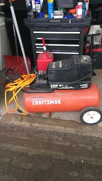 red and black Craftsman air compressor Terryville, 06786
