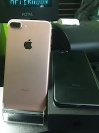 Two black and rose gold iPhone 7 Plus Lafayette, 70506