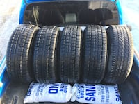 Dodge Dakota tires and rims 235/75 r15 Edmonton, T5H 3S9