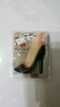 Black High Heel Business Card Stand Singapore, 648886