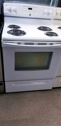 Used White Electric Stove For Sale In Md City Letgo