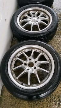 2 Two17in 5x114.3 wheels rims and tires Potomac, 20854