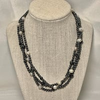 Hematite & Pearl Necklace Ashburn, 20147