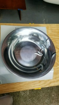 Silver serving bowl or center piece Columbia