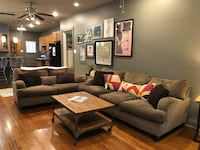 Sofa, loveseat, and over-sized chair set.  New Orleans, 70125