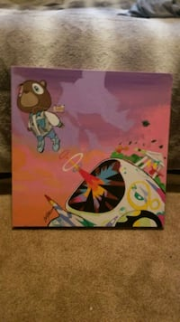 Kanye west graduation canvas  Calgary, T3K 6A2