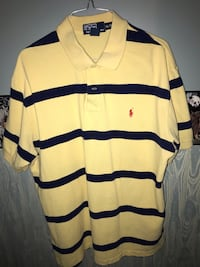 Yellow/blue/red Ralph Lauren polo shirt Kitchener, N2N 1H5