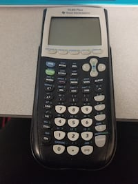 black and gray Texas Instruments TI-84 Plus BALTIMORE