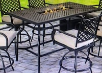 Fire Pit Patio Table BRAND NEW , 11378