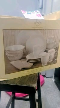 4 person Dinnerware Set- Lenox Clemmons, 27012