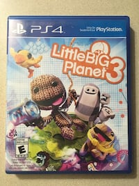 LittleBigPlanet3 PS4 $7.00 Kitchener, N2M 2C5