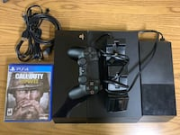 PS4 500gb plus hdd expansion kit and controller charger