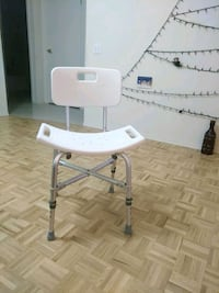 New Large Adjustable Shower Chair.