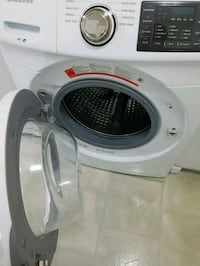 white and gray front-load washing machine Toronto, M3N 2R4