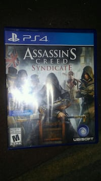Assassin's Creed Syndicate PS4 game case Hamilton, L8L 7T3