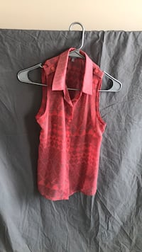 women's pink sleeveless top Frederick, 21704