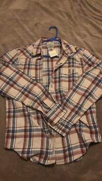 white, black, and red plaid sport shirt Rock Hill, 29732