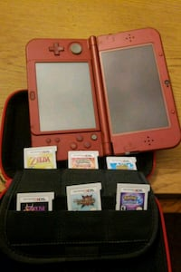 New 3ds red 6 games case Newton, 07860