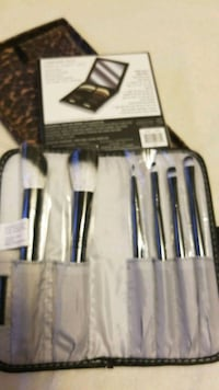 black and gray makeup brush set Mississauga, L5V 2Z9