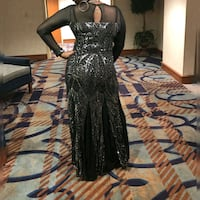 Beautiful gown...Worn once SIZE 14 742 mi