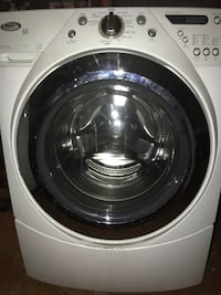 Whirlpool duet front loading washing machine XL stainless drum $200 Dearborn Heights, 48127