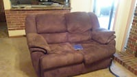 brown suede 2-seat recliner sofa Kissimmee, 34744