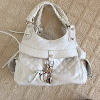 White leather tote bag 2251 mi