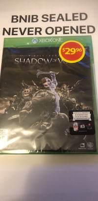 Sony PS4 Shadow of Mordor game case Brampton, L7A 2Z3