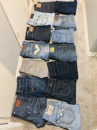 Men's jeans size 32-38 new or like new  Edmonton, T5N 3R2