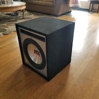 MTX 12 inch subwoofer with ported box