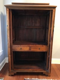 Armoire with two drawers/door closes WASHINGTON