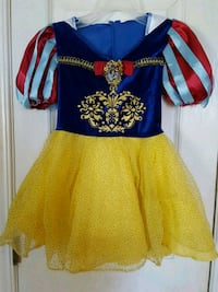 Snow white dress up costume size 3t Quinte West, K8V 5P8