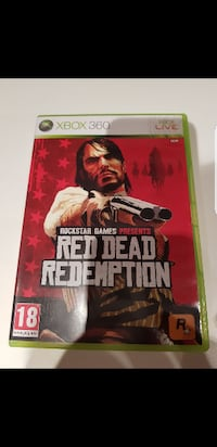 Xbox 360 Red Dead Redemption spill