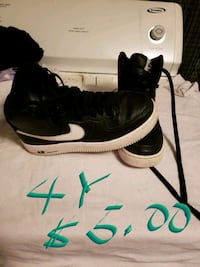 black-and-white Nike basketball shoes Maxton, 28364