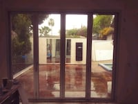 Glass sliding doors( accordion style)  Los Angeles, 91606