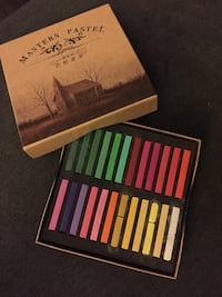 Soft and semi hard pastels and sketch books Ajax, L1S 1K1