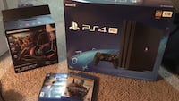 Sony PS4 console with controller and game cases Alexandria, 22304
