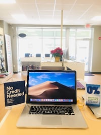 "2015 15"" MacBook Pro Retina 2.2 GHz i7 16GB RAM 256SSD 1 Year Warranty - $1350 (Middleton, MA) Middleton"