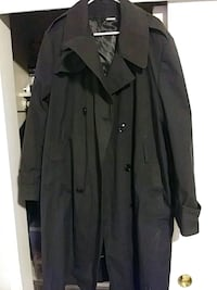 black button-up coat Citrus Heights, 95610