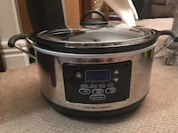 Hamilton beach slow cooker in a very good condition  Calgary, T3H