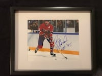 Larry Robinson Signed and framed photo Châteauguay, J6K 2A7