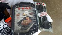 TFal roaster/broiler pan, 3-piece utensil set Potomac Falls, 20165