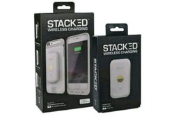 Stacked wireless charging case