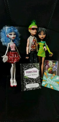 Lote 3 muñecas monster high Alacant, 03699