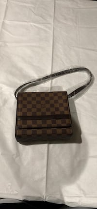 damier ebene Louis Vuitton leather crossbody bag Westminster, 92683