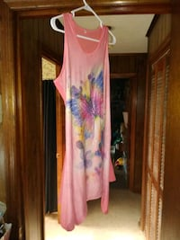 Women's dress for over bathing suit size XL