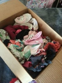 assorted color clothes lot in box Las Vegas, 89101