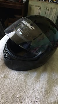 black full-face helmet Urbandale, 50322