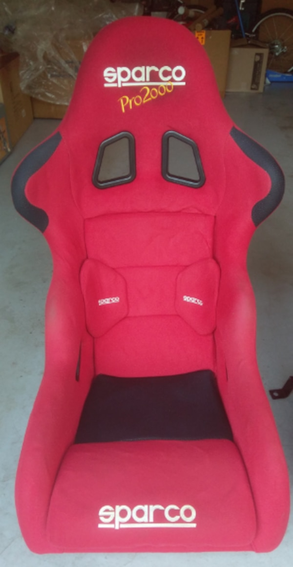 Brilliant Used Sparco Pro 2000 Racing Seats 2 Asking 500 Obo For Machost Co Dining Chair Design Ideas Machostcouk