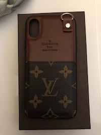 Louis Vuitton IPhone X case w/ card holder Baldwin Park, 91706